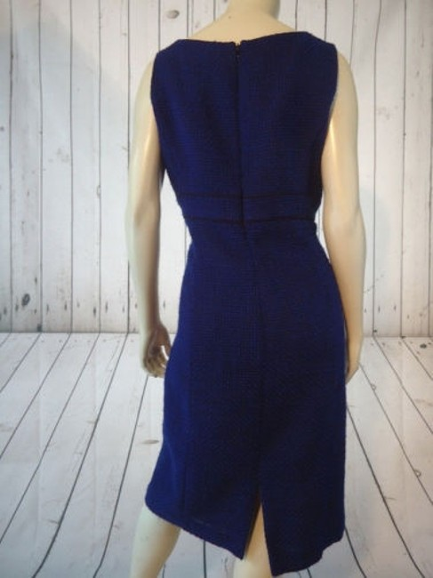 Alex Marie Poly Stretch Sheath Fitted Retro 60s Hot Dress Image 7