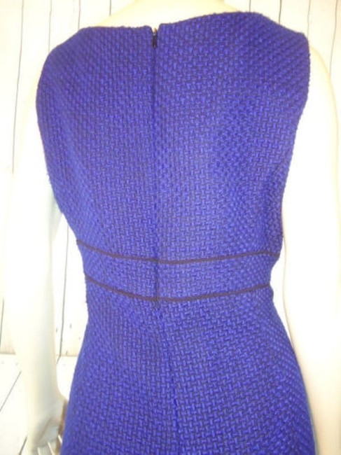 Alex Marie Poly Stretch Sheath Fitted Retro 60s Hot Dress Image 8