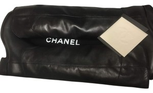Chanel S Cc Black Boots