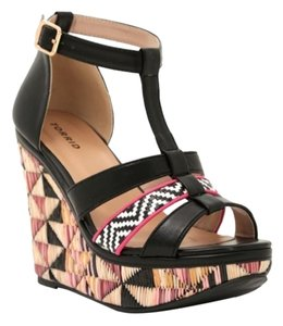 Torrid Platform Heels Black / Multi Wedges