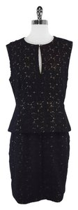 Diane von Furstenberg short dress Delian Peplum on Tradesy