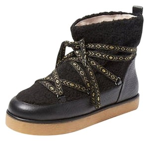 House of Harlow 1960 Sadie Shearling Black Boots