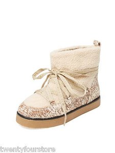 House of Harlow 1960 Sadie Ivory Boots