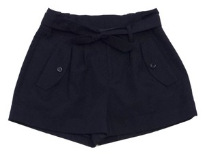 Kate Spade Navy Blue Cuffed Shorts