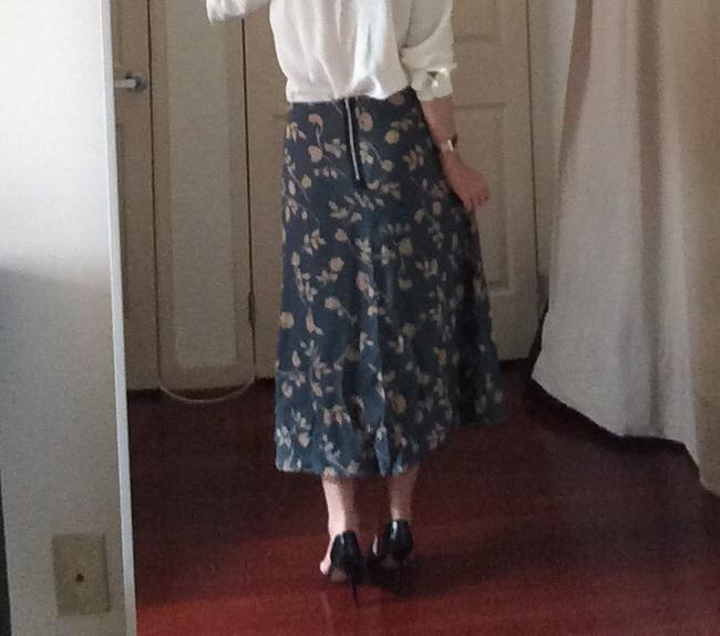 Reformed Skirt Green