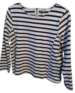 J.Crew Top Navy and white stripes