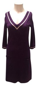Izod short dress Purple on Tradesy