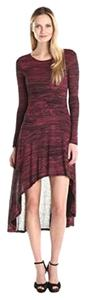 Kensie short dress garnet red black on Tradesy