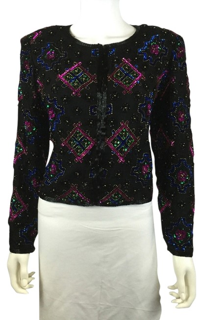 Preload https://img-static.tradesy.com/item/13588591/sweet-dreams-sequin-sku-000010-blazer-size-8-m-0-1-650-650.jpg