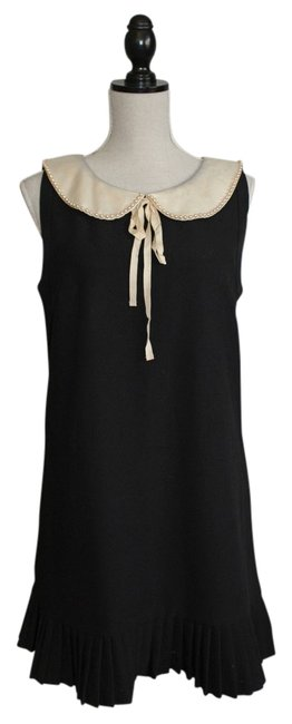 Preload https://img-static.tradesy.com/item/13588633/b-darlin-black-with-beaded-peter-pan-collar-above-knee-night-out-dress-size-8-m-0-1-650-650.jpg
