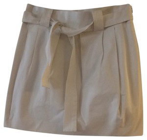 Prada Mini Skirt Off white
