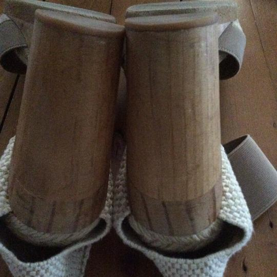 Andre Assous Cream and tan Mules Image 2
