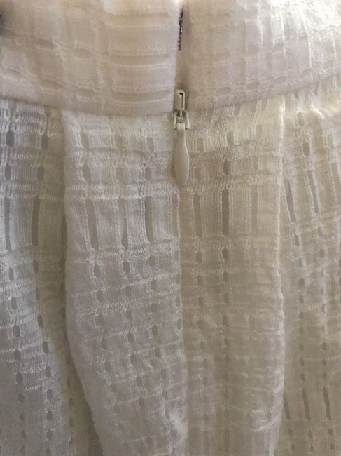 Chelsea28 Pockets Lined Perforated Skirt White Star Image 2
