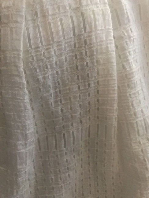 Chelsea28 Pockets Lined Perforated Skirt White Star Image 3