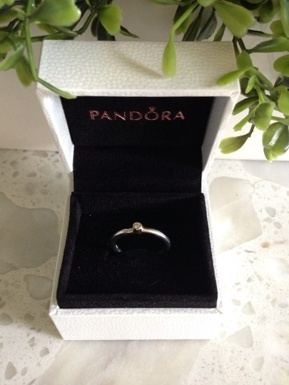 PANDORA PANDORA Morning Star with Diamond Ring