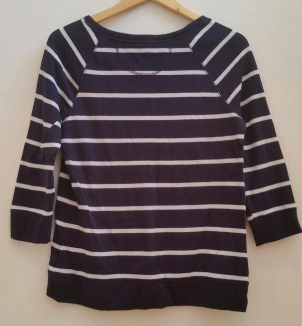 Merona Nautical 3/4 Sleeve Sweater