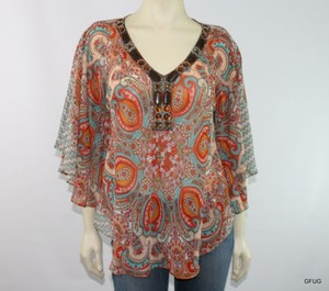 Signature Studio Earthy Top Multi-Color