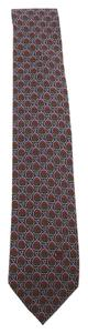 Céline Celine Multi-Color Silk Necktie (78969)