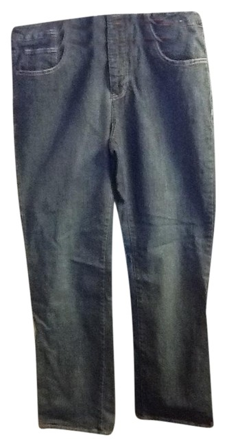 Faded Glory Petite Classic Stretchy Comfortable Casual Straight Leg Jeans-Medium Wash
