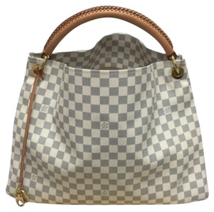 Louis Vuitton Hobo Damier Artsy Tote Shoulder Bag