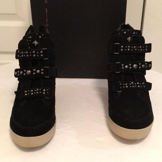 Steven by Steve Madden Black Wedges Image 2