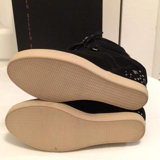 Steven by Steve Madden Black Wedges Image 4