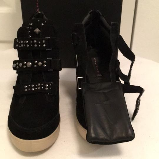 Steven by Steve Madden Black Wedges Image 6
