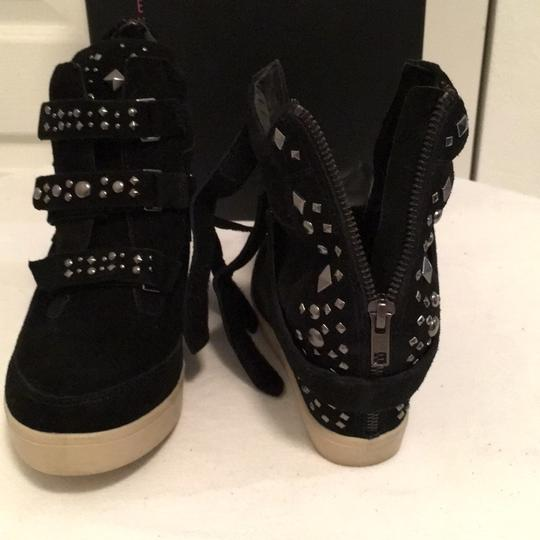 Steven by Steve Madden Black Wedges Image 7