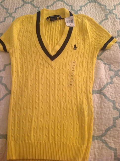 Polo Ralph Lauren V-neck Cute Sweater