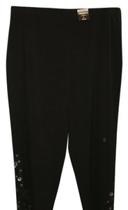 Avenue Straight Pants Black
