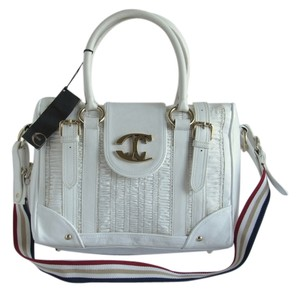 Just Cavalli Roberto Cavalli Leather Shoulder Bag