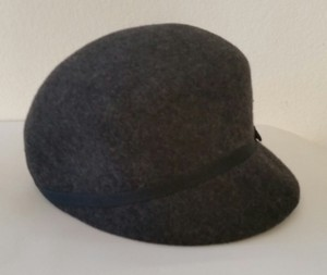 Charming Charlie Grey newsboy hat.
