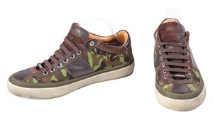 Jimmy Choo Mens Sneakers Camo Athletic