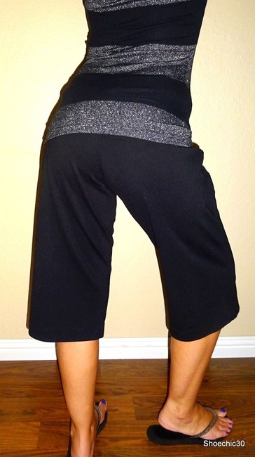 New York & Company Pants Outfit Capris Black Image 2
