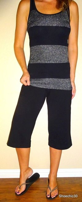 New York & Company Pants Outfit Capris Black Image 3