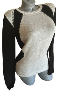 Helmut Lang Obstructed Borders Geometric Sweater
