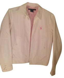 Ralph Lauren White &. Pink Jacket