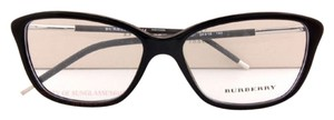 Burberry Brand New BURBERRY Eyeglass Frames BE 2170 3001 Black For Women Size 54