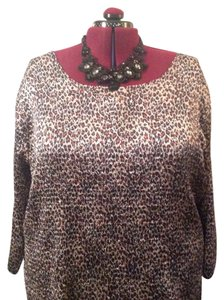 Studio 1940 Top Black, Brown, Tan, Cream