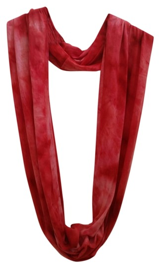 Charming Charlie Red Infinty Scarf