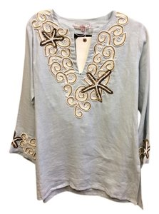 Barbara Gerwit Med Beaded Tunic