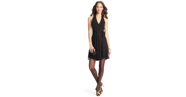 Diane von Furstenberg Amelia Lace Wrap Dress Image 1