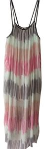 Cream with multi striping Maxi Dress by Alice + Olivia
