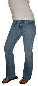 American Eagle Outfitters Vintage Date Night Flare Leg Jeans-Light Wash