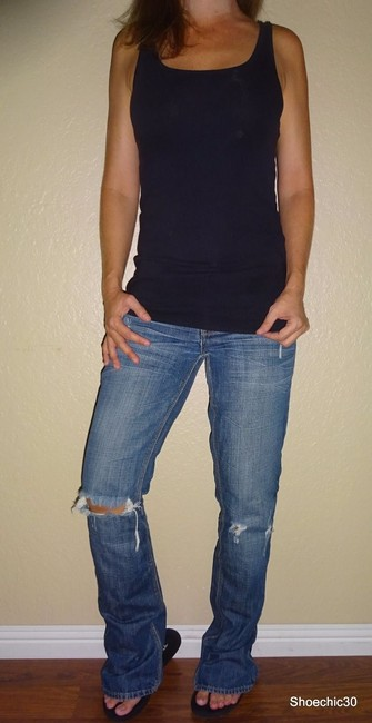 American Eagle Outfitters Night Trending Straight Leg Jeans-Medium Wash Image 5