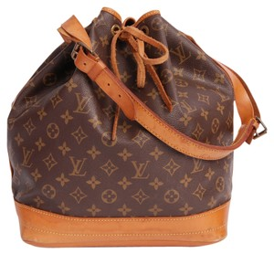 Louis Vuitton Noe M42224 Tote in Brown