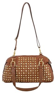 Naughty Monkey Leather Studded Shoulder Bag