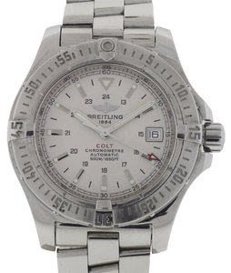 Breitling Breitling Colt Automatic Stainless Steel White Dial Watch A17380