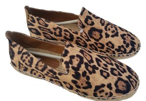 Nearly Nude Espadrilles Leopard Print Flats