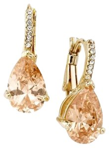 City by City Faux Champagne Diamond Earrings (Cubic Zirconia)